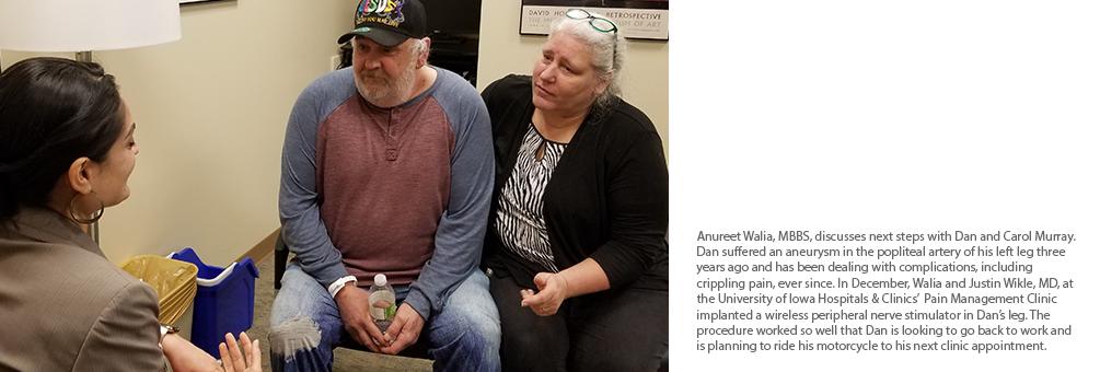 Dan and Carol Murray talk with Anureet Walia, MBBS