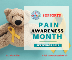 Society for Pediatric Pain Medicine Pain Awareness Month