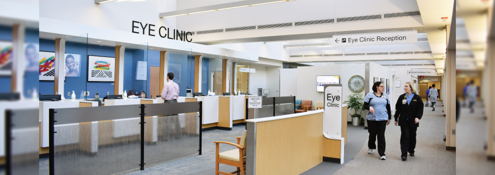 Eye Clinic Reception