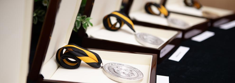 Investiture Ceremony medals