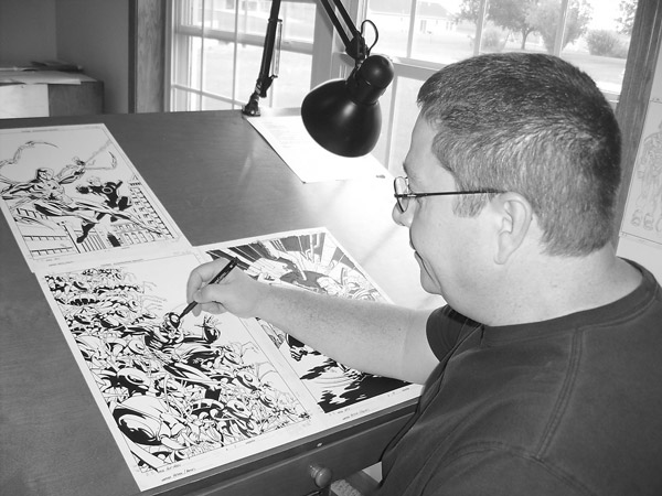Phil Hester at work