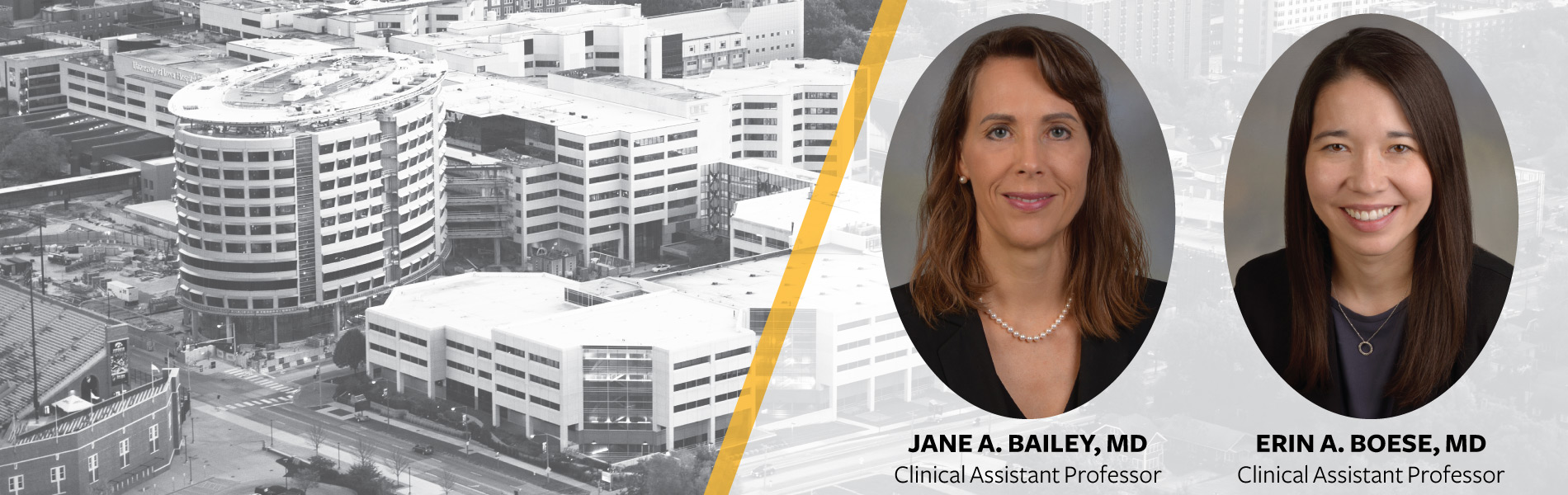 New Providers, Jane Bailey and Erin Boese