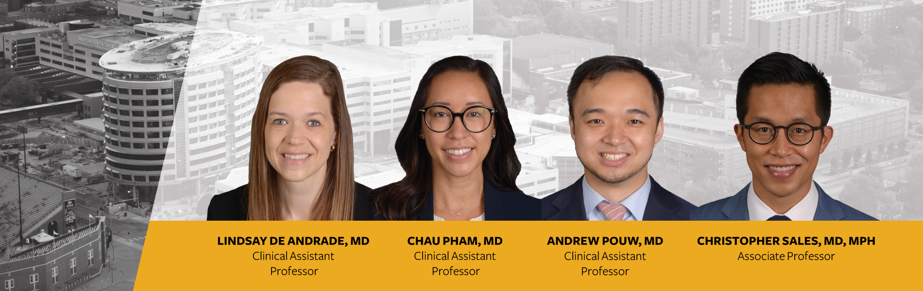 New eye specialists join the team