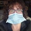 Christine Sindt, OD, FAAO, wearing a mask