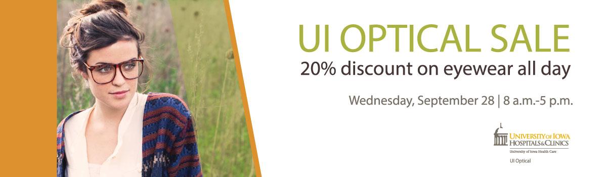 UI Optical Fall Sale