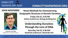 John Novembre - Novel Methods for Characterizing Geographic Structure in Genetic Variation promotional image
