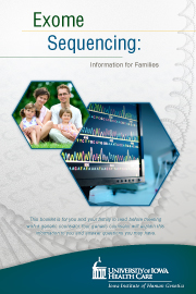 Exome brochure cover