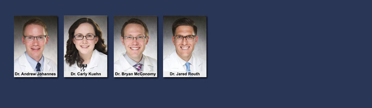 Banner: Chief Residents 2016-17