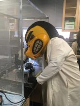 Herky in the Lab