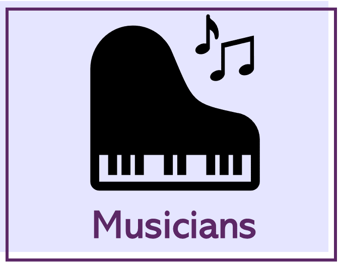 Pages for musicians