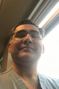 A selfie of Imran Hassan