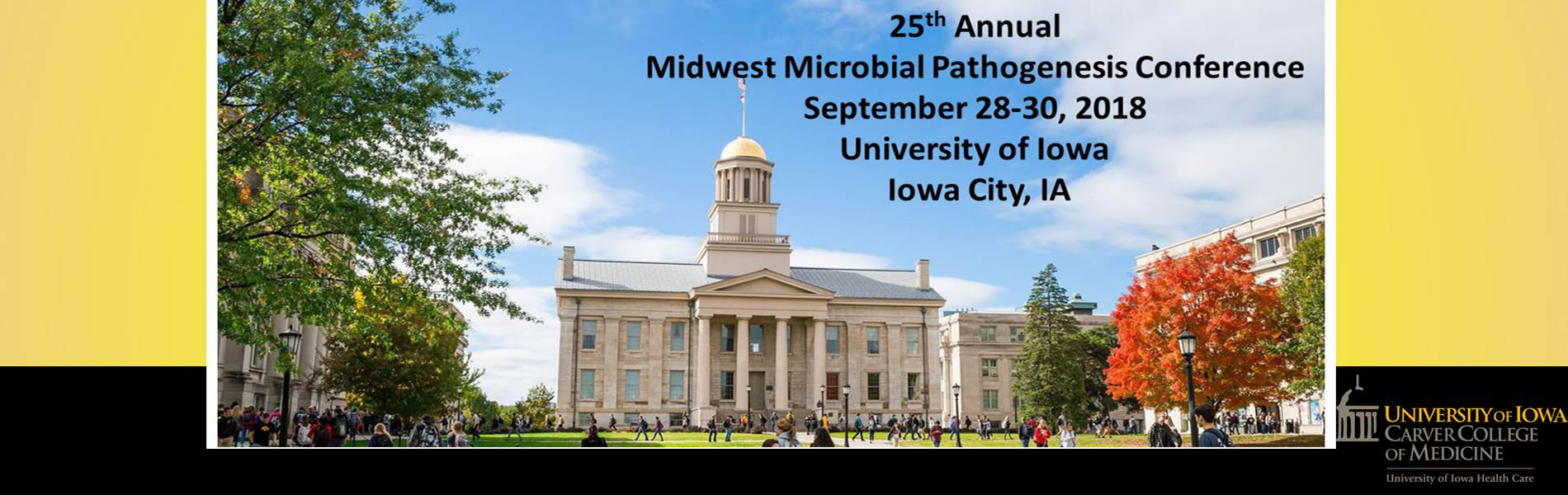 Midwest Microbial Pathogensis Conference (MMPC) 9/28-30/18