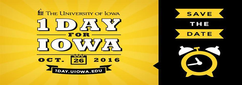 One day for Iowa