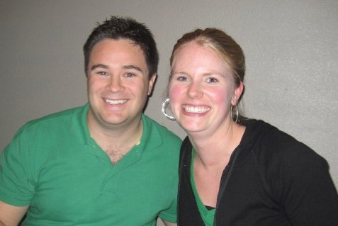 Sarah Pulvermacher with Sean Connolly