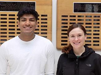 Vishal Perera and Emily Hoeper