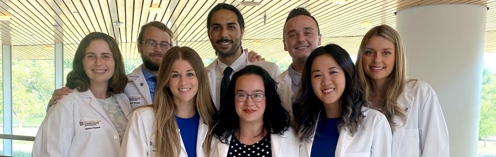 2021 Incoming MSTP Students at the CCOM White Coat Ceremony