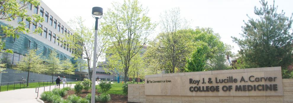 Carver College of Medicine building view