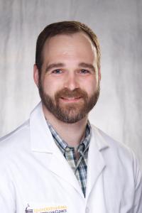 Photo of clinical neurophysiology fellow Jacob Hvidston
