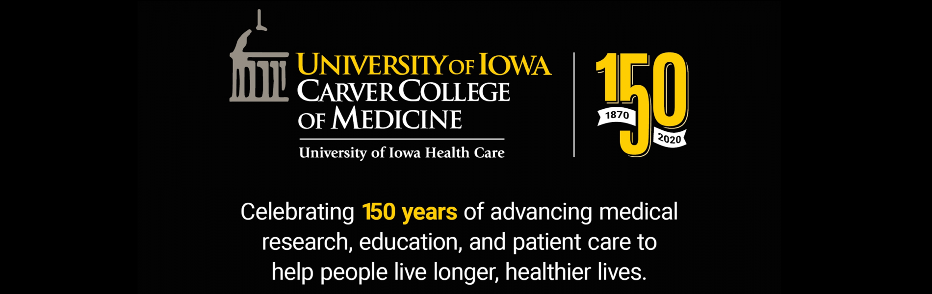 University of Iowa 150 years (1870-2020)