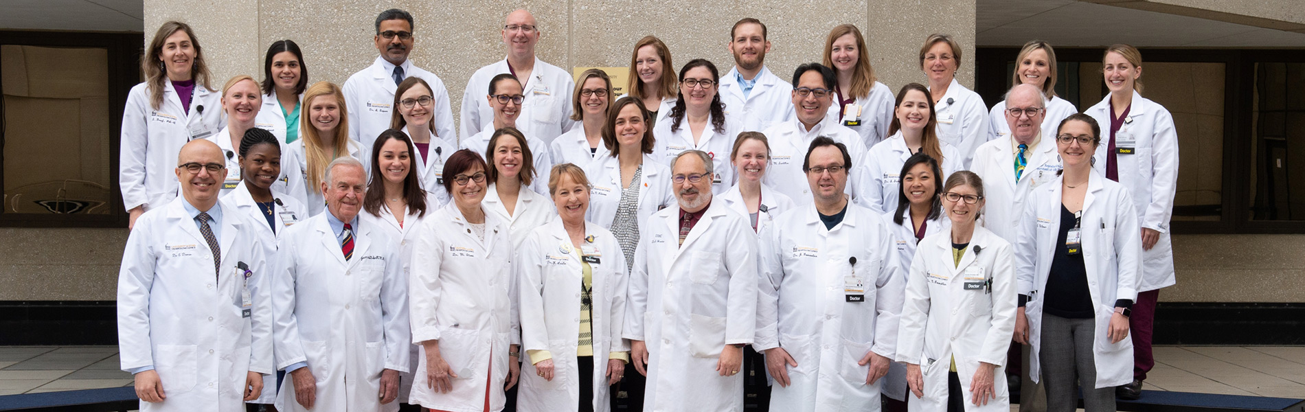 Group photo of doctors