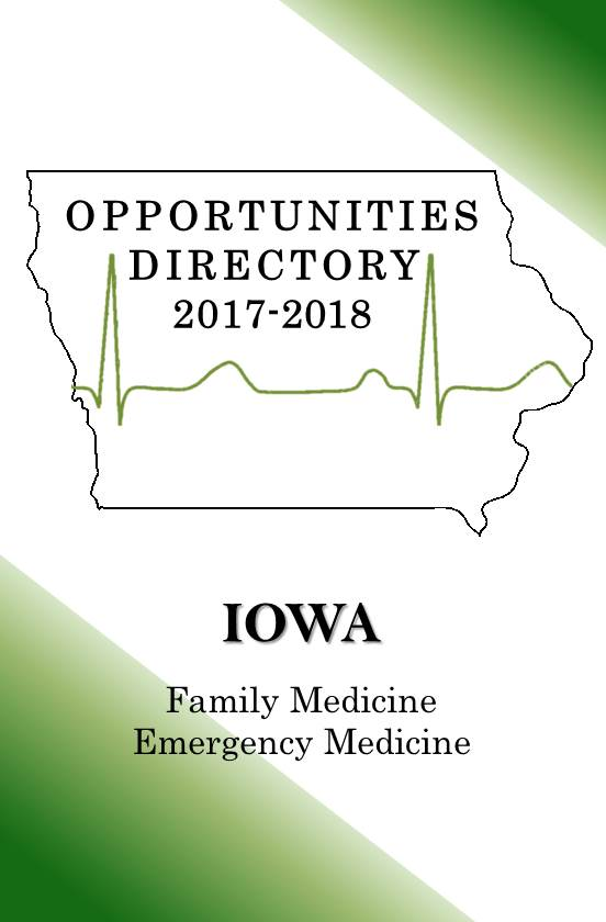 Iowa Family Medicine and Emergency Medicine Practice Opportunities