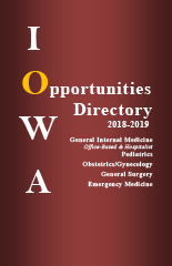 Physician Specialty Opportunities Directory 2018-2019
