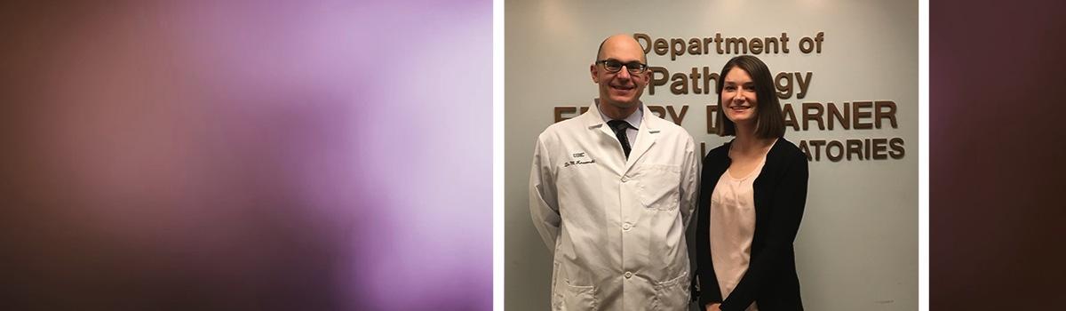 Drs. Matthew Krasowski and Amelia Fierro-Fine