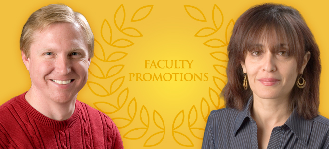Department Celebrates Recent Faculty Promotions