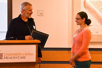 Resident and Fellow Farewell Award Jensen Stauffer