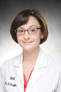 Pathology Welcomes New Faculty Dr. Stephanie Stauffer