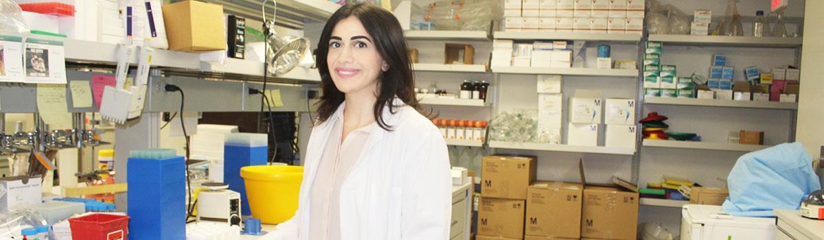 Farah Itani receives Center for Immunology and Immune-based Diseases Travel Award
