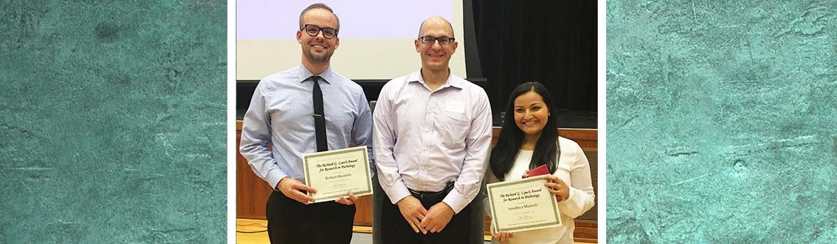 The Richard G. Lynch, MD Award for Pathology Winners