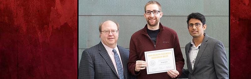 Alex Boyden Receiving Award