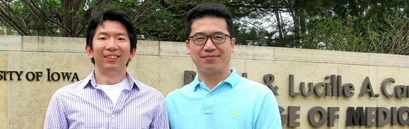 Sung Jo and Dr. Weizhou Zhang