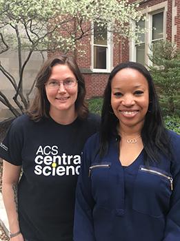 Rachel Dahl and Dr. Andrean Simons-Burnett