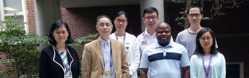 Dr. Jian Zhang and his lab members
