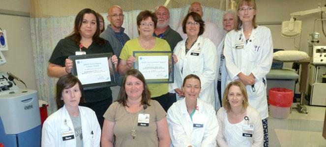 DeGowin Blood Center achievement awards