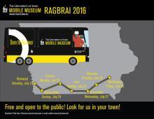 UI Mobile Museum at RAGBRAI Washington