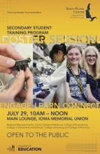 Secondary Student Training Program Public Poster Session