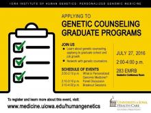 The Future of Personalized Genomic Medicine: Applying to Genetic Counseling Graduate Programs