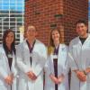 Class of 2015 - Amanda Pinkerman, Peter Nelson, Morgan McGrath, Tyler Kalb