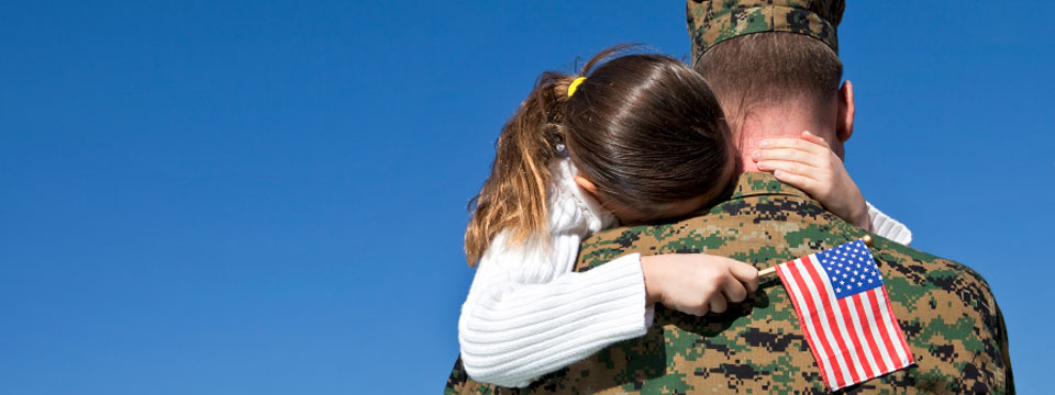 military daughter and father