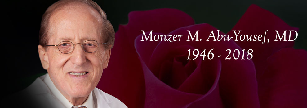 Monzer M. Abu-Yousef, MD