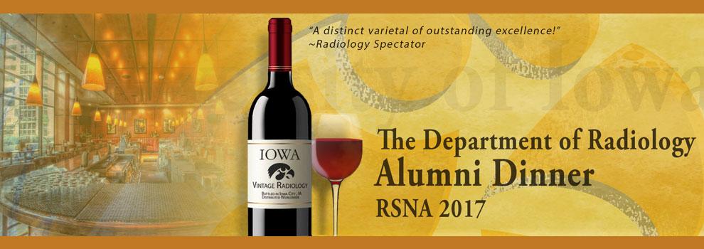 Radiology Alumni Dinner RSNA 2017
