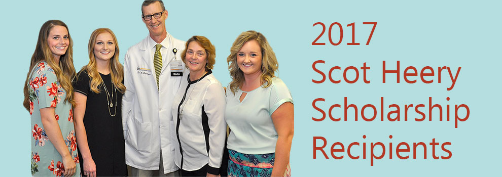 2017 Scot Heery Scholarship Recipients