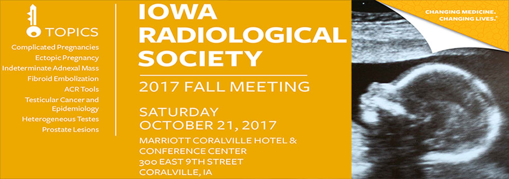 Iowa Radiological Society 2017 Fall Meeting