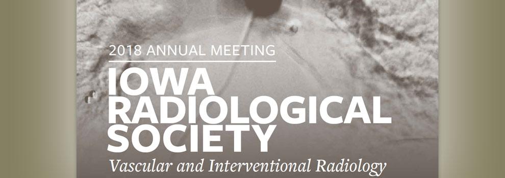 Iowa Radiological Society Annual Meeting 2018
