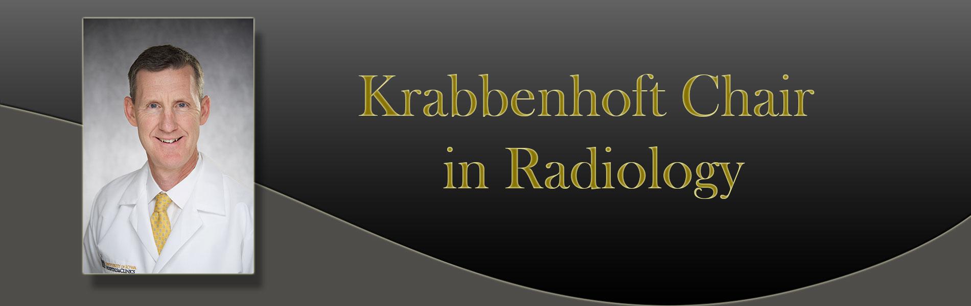 Krabbenhoft Chair Award