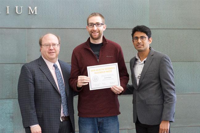 Alexander Boyden receives award