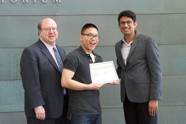 Anh-Vu Do receives award for scientific humor art